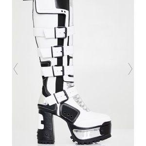 Dolls Kill Platform Boots